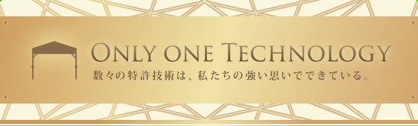 Only one Technology
